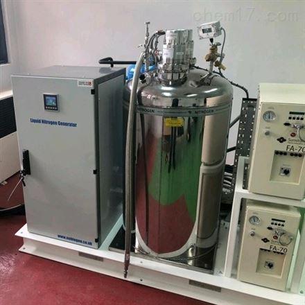 130升每天风冷型智能液氮制备系统