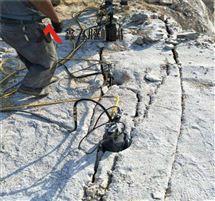 岩石分裂棒不用爆破采礦