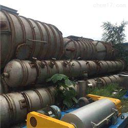 二手5吨三效降膜蒸发器附件齐全