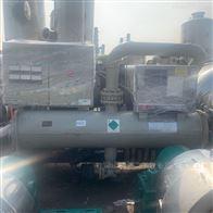 长期回收二手螺杆式冷水机组 风冷制冷机组