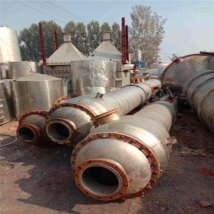 供应二手2吨双效降膜蒸发器