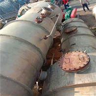 处理二手强制循环钛蒸发器多台