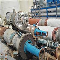 转让二手双效3吨强制循环蒸发器