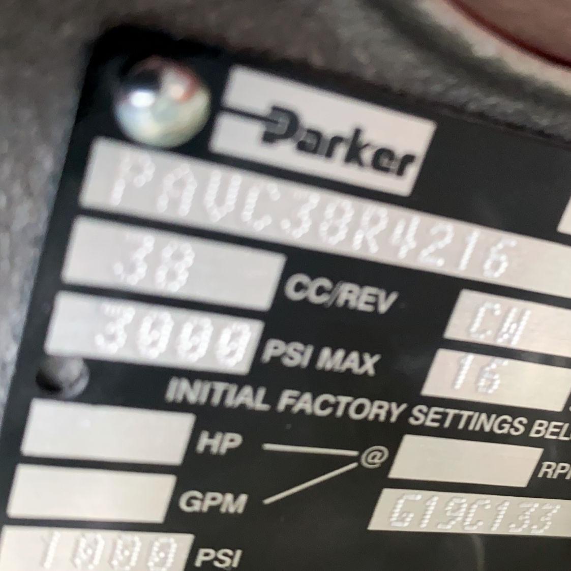 Parker派克柱塞泵PV202R5EC00原装现货