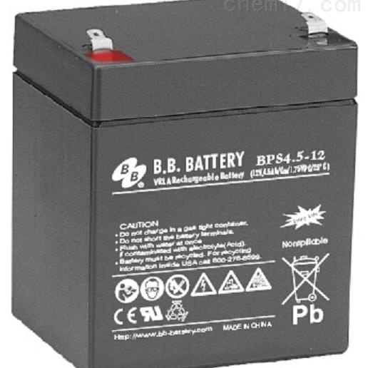 台湾BB铅酸蓄电池BPS4.5-12
