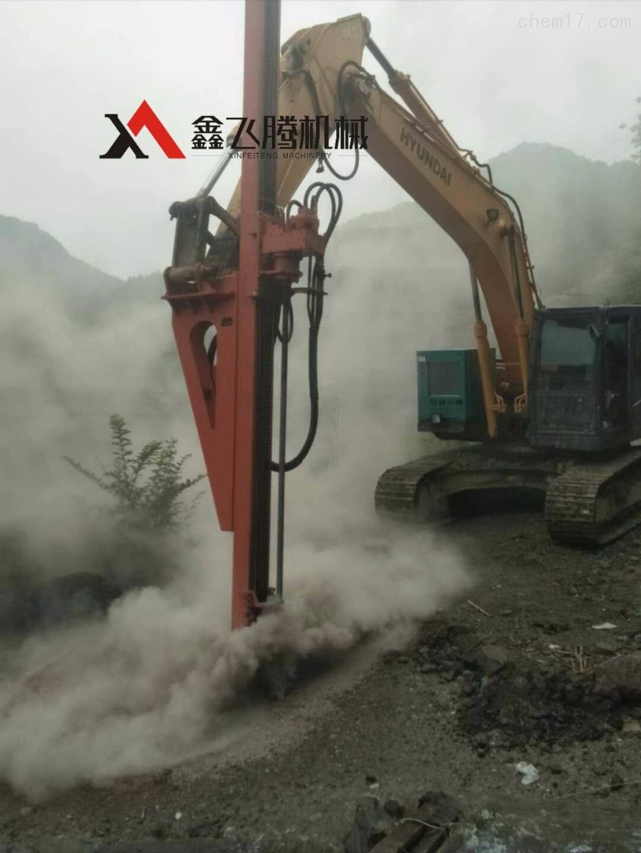挖改液压钻机自动换杆