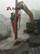 挖改钻机液压打孔机械