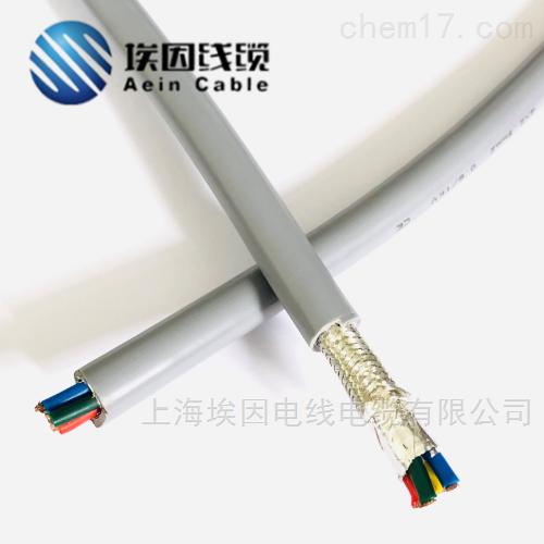 欧盟认证带屏蔽高柔性衰减小耐寒电缆