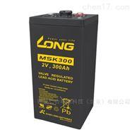 广隆蓄电池MSK300/2V300AH规格容量