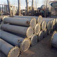 供应二手304材质不锈钢列管冷凝器