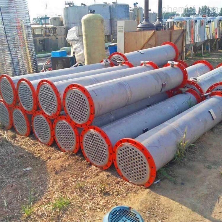 弘瑞处理二手180平方钛材冷凝器