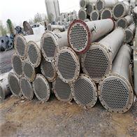 处理二手120平方全不锈钢列管式冷凝器