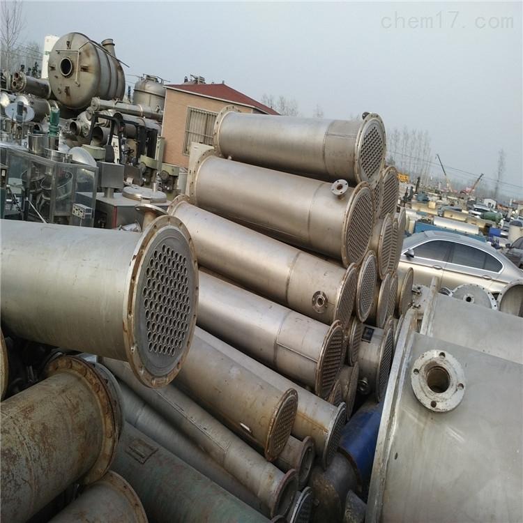 80平方二手低温列管式不锈钢冷凝器价格