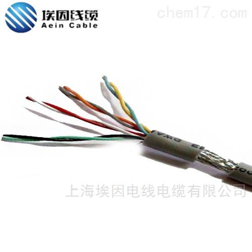 PVC绝缘护套软电缆带屏蔽300V耐寒耐潮电缆