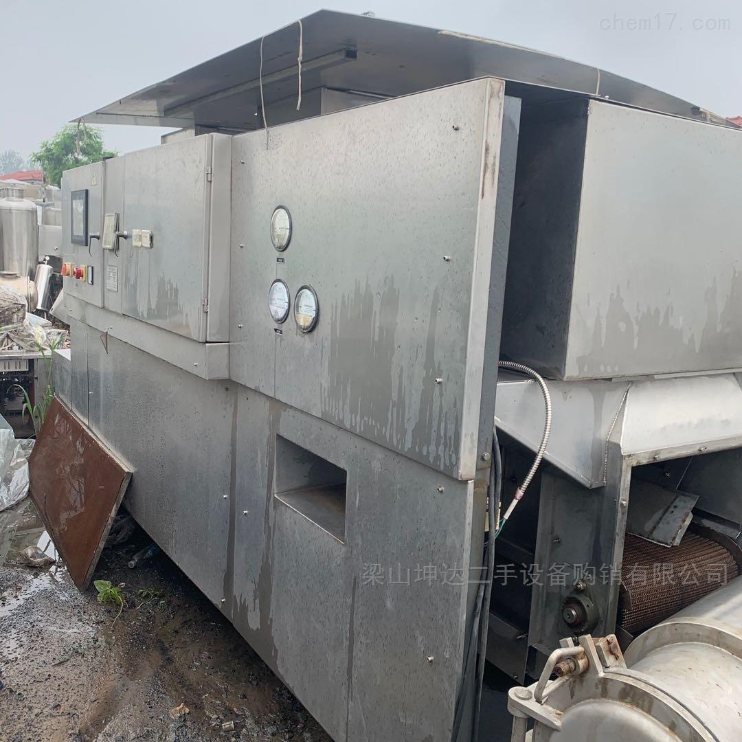 高价回收二手隧道式灭菌干燥机