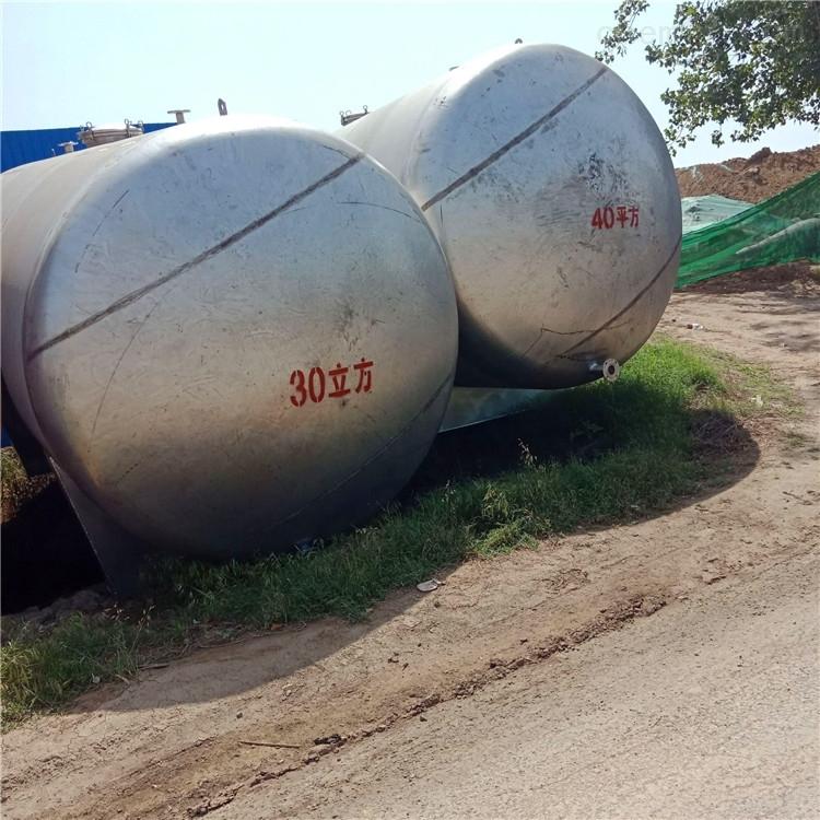 供应二手304不锈钢地埋罐 液体储罐