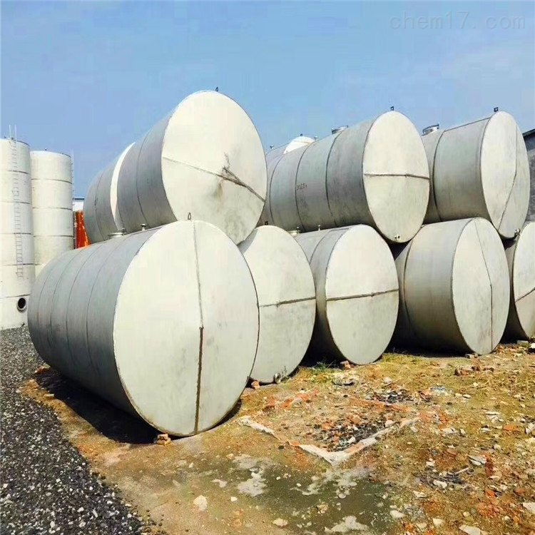 厂家供应二手10立方不锈钢液体储存罐