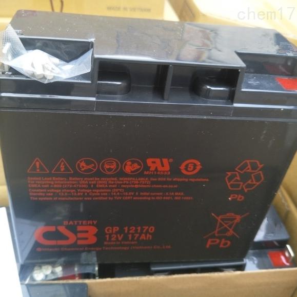 CSB蓄电池GP12170选购