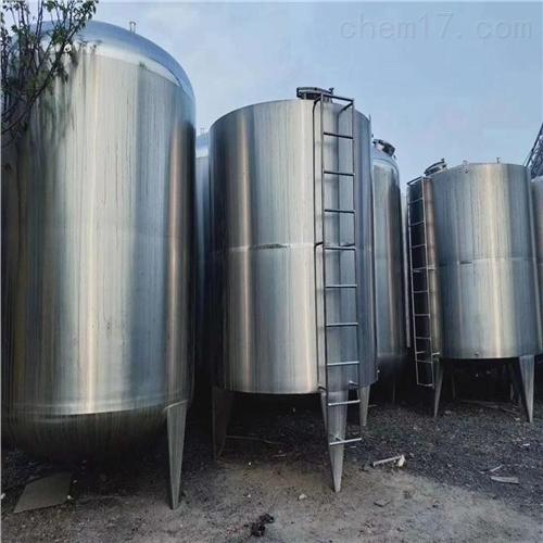二手卫生级不锈钢罐回收厂家