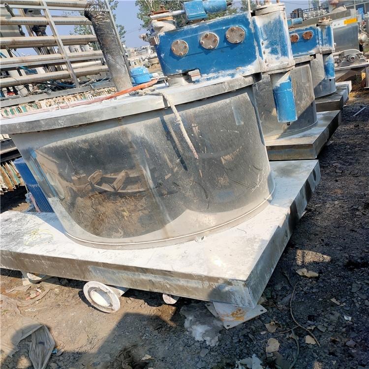 回收二手平板式刮刀下卸料离心机
