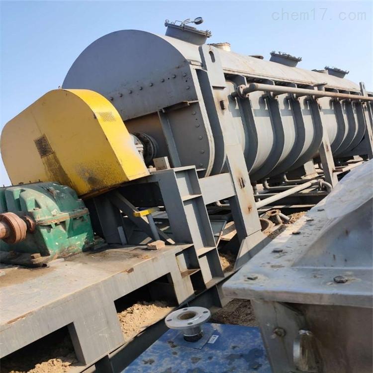二手空心桨叶干燥机供应  现货供应