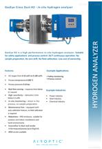 GasEye Cross Duct  H2激光H2氫氣分析儀