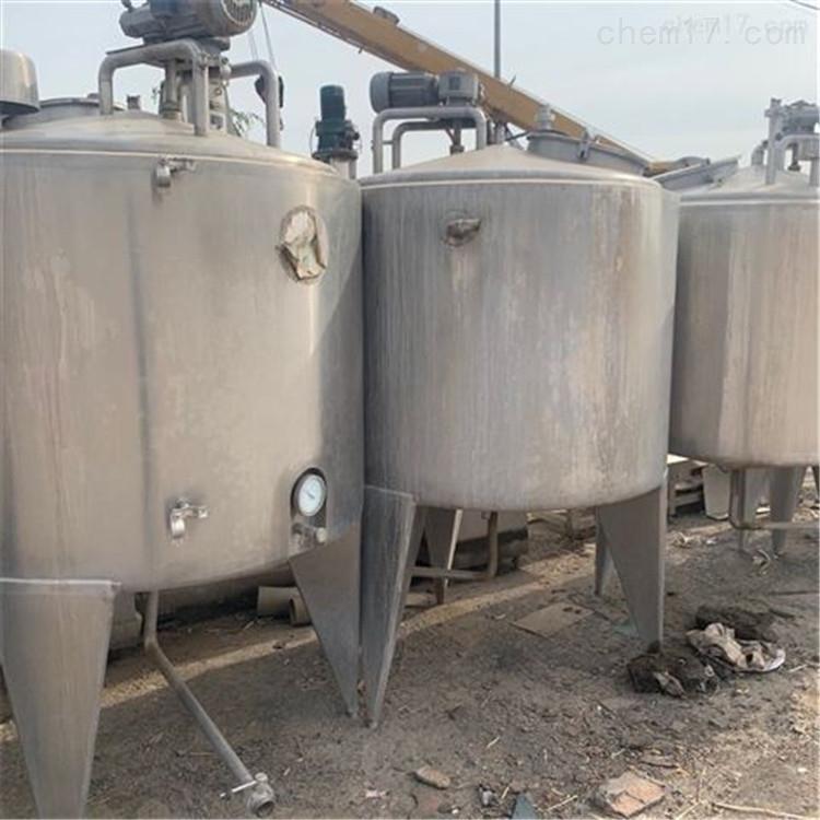 出售二手1吨到50吨生物发酵罐