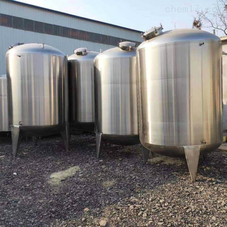 二手5吨立式不锈钢白酒储存罐市场报价