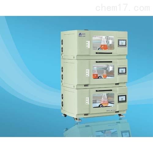 高精度三层叠加式振荡培养箱