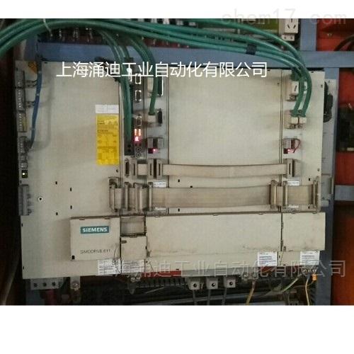西门子6SN1123驱动器轴无数据维修
