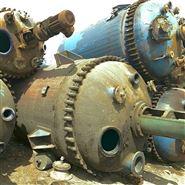 供应化工厂出售二手5吨搪瓷反应釜