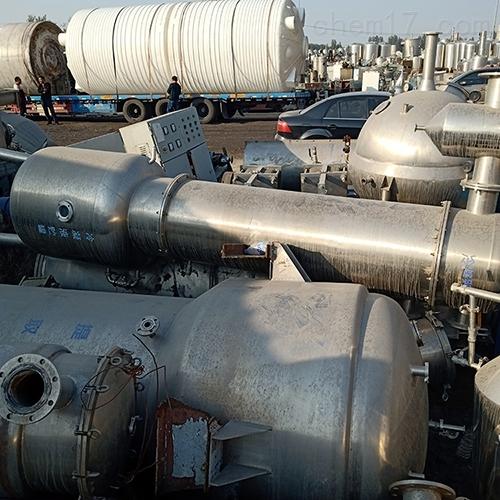 九成新二手三效蒸发器配置齐全