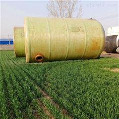 10吨 20 30 50 60吨二手40立方卧式玻璃钢储罐,盐酸50立方贮罐