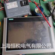 西门子操作面板开机一直停在启动界面不动