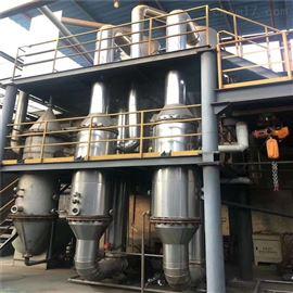 10热销处理美国进口7吨三效降膜蒸发器材质钛