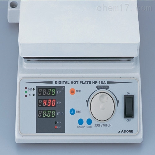 日本ASONE亚速旺大功率数码加热板HP-1SA