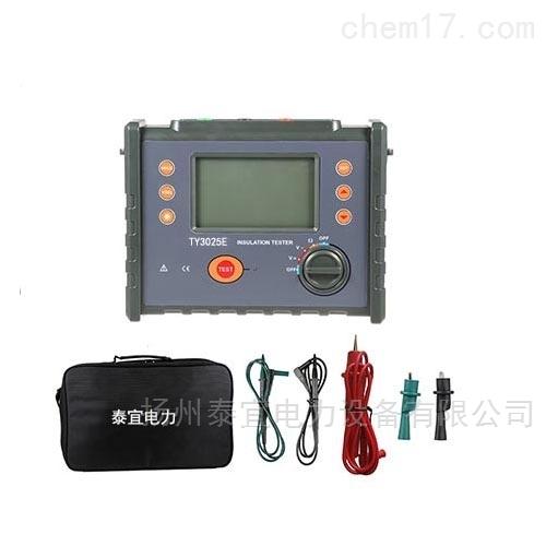 泰宜高压绝缘电阻测试仪生产厂家