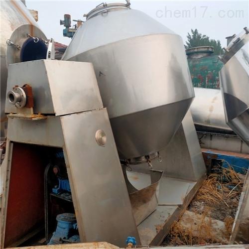 出售  二手3000升双锥回转真空干燥机