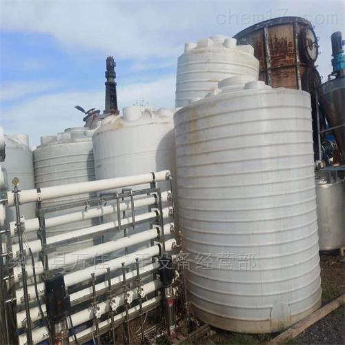 二手10吨塑料PP罐减价出售