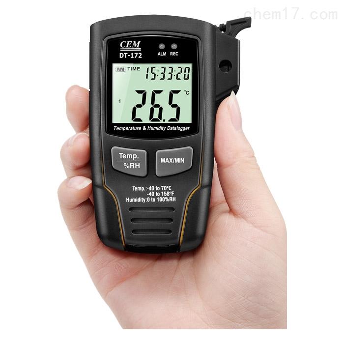cem华盛昌DT-172温湿度数据记录仪厂家促销