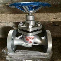 UJ41H高压柱塞截止阀标准