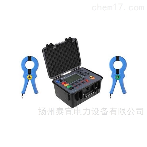 泰宜双钳多功能接地电阻测试仪设备