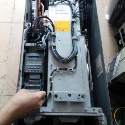 上海西门子MM430变频器面板不亮维修