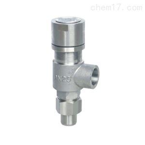 A21H弹簧微启式外螺纹安全阀质量可靠
