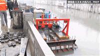 小型河道清淤船可配脫水設備固化淤泥