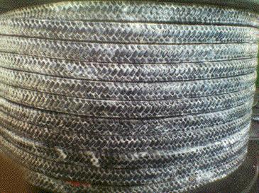 直批碳纤盘根 碳纤维盘根 四氟液浸碳素盘根