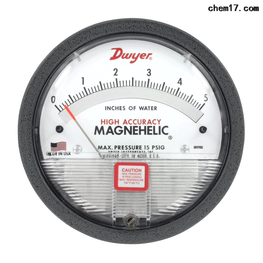 Dwyer 2000-HA系列高精度差壓表