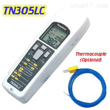 台湾先驰TN305LC热电偶红外测温仪