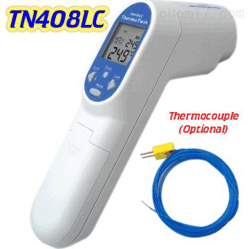 中国台湾先驰TN408LC红外线测温仪 热电偶激光二合一测温仪
