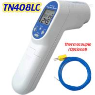 台湾先驰TN408LC红外线测温仪 热电偶激光二合一测温仪